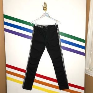 NEW BDG Checkered stripe Skinny stretch jeans